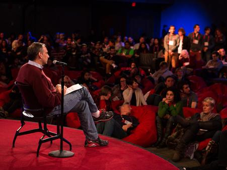 Dave Isay brings StoryCorps to TEDActive